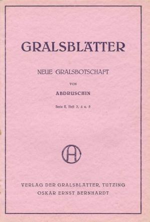 Glasblatter, serie 2