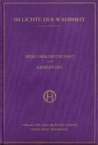 Gralbotschaft 1926 couverture